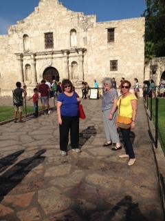 At the Alamo.