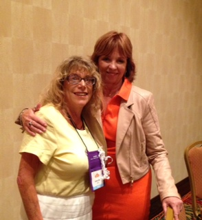 Nora Roberts and me! What an amazing woman!